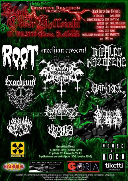 Black Curse Over Hellsinki 2009
