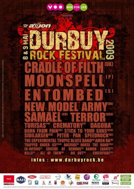 durbuy rock festival 2009