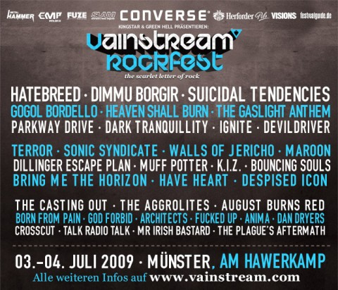 vainstream rockfest 2009
