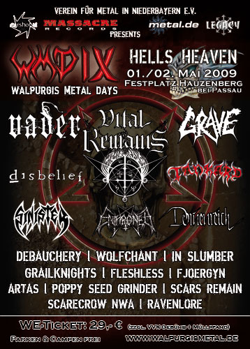 walpurgis metal days IX