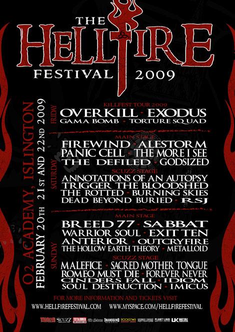 Hellfire Festival 2009