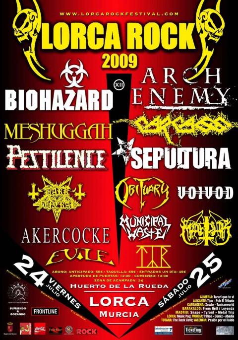 lorca rock metal festival 2009