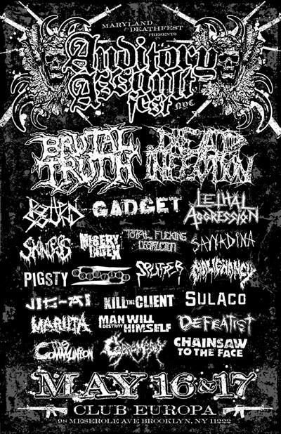 auditory assault metal festival 2009