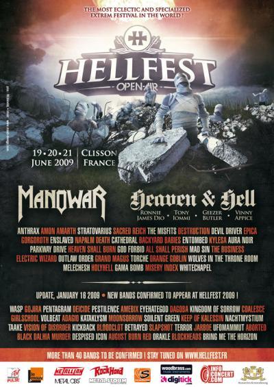 foto de HellFest 2009 All Metal Festivals