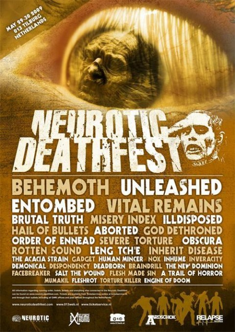 neurotic deathfest 2009