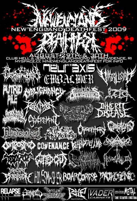 new england deathfest 2009