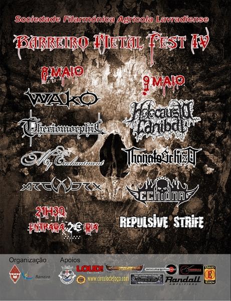 barreiro metal fest 2009