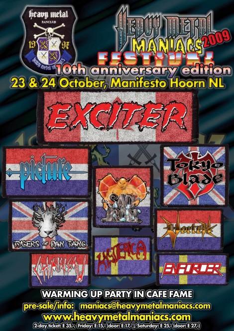 heavy metal maniacs festival 2009