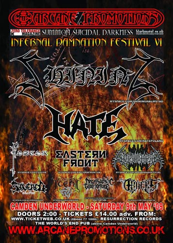 infernal damnation 2009
