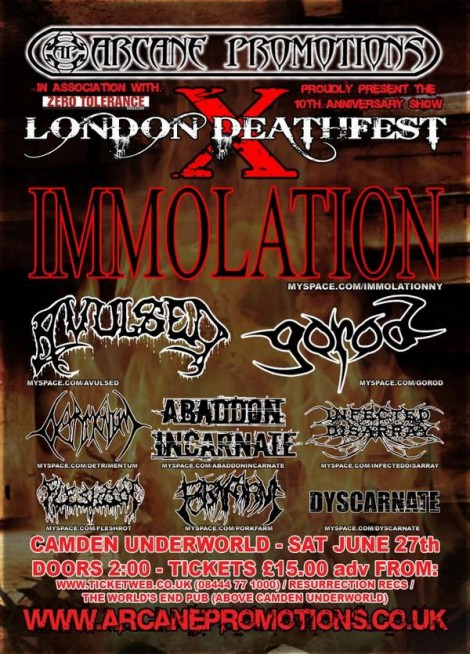 london deathfest 10
