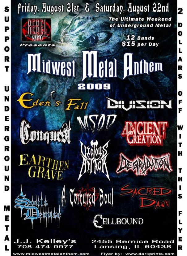 Midwest Metal Anthem 2009