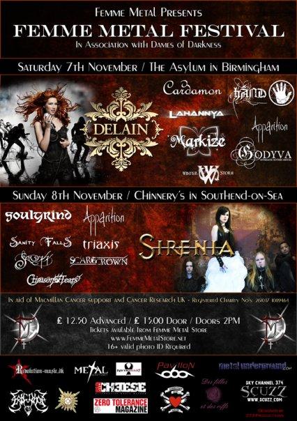 Femme Metal Festival 2009