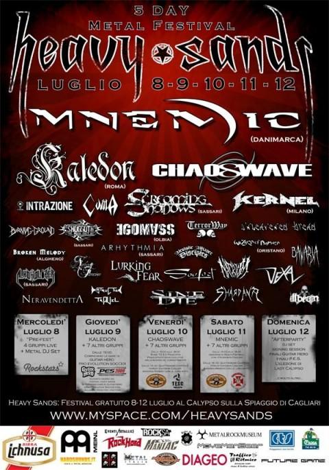 heavy sands metal festival 2009