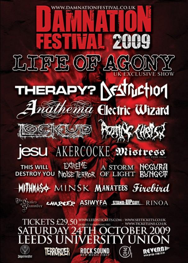 Damnation festival 2009
