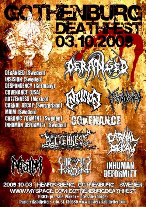 gothenburg deathfest 2009