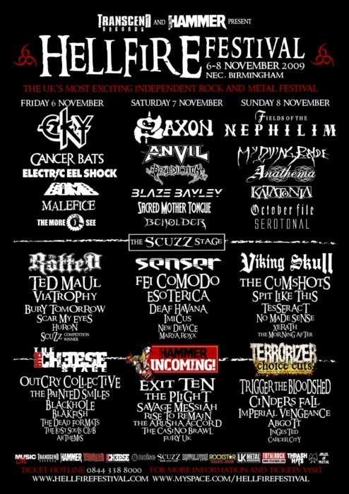 hellfire II metal festival