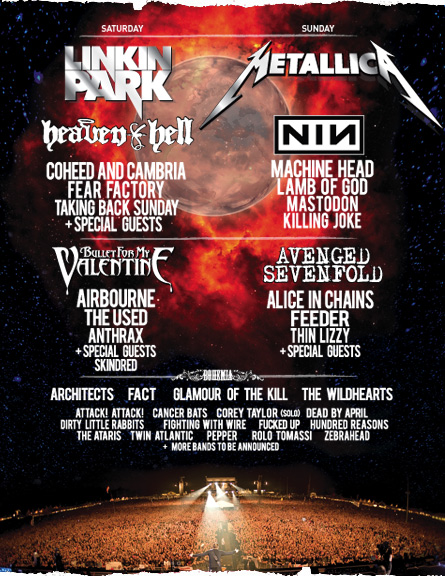 sonisphere uk 2009