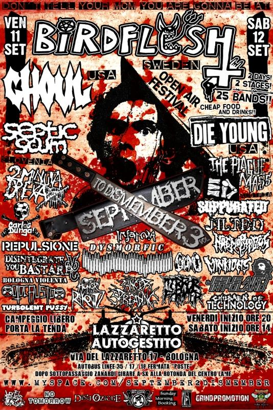 September to Dismember Metal Festival