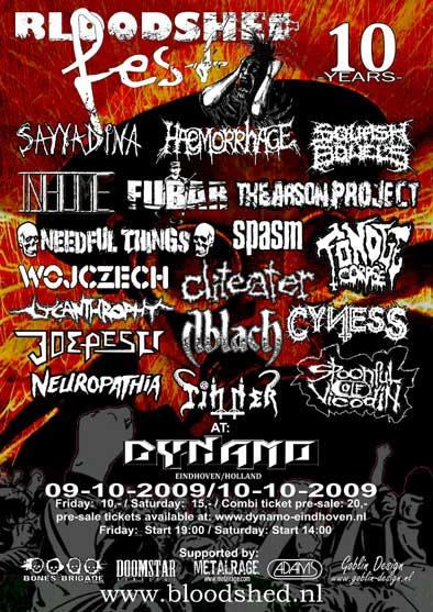 Bloodshed Fest 2009