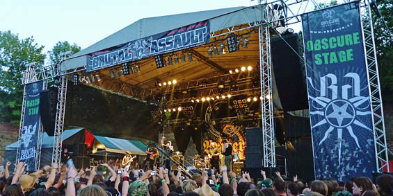 Brutal Assault Stage