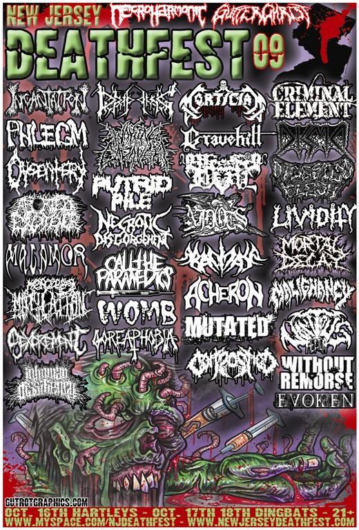 New Jersey Deathfest 2009