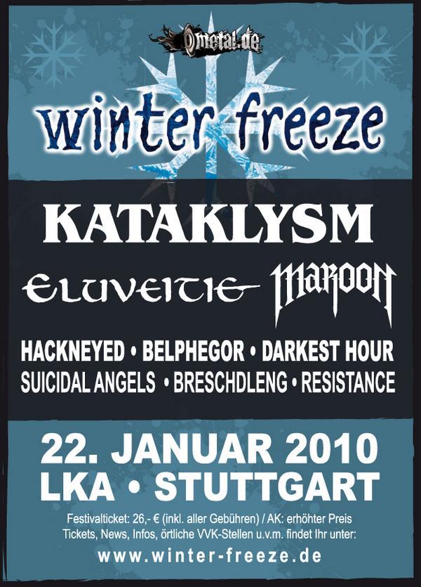 Winter Freeze Metal Festival 2010