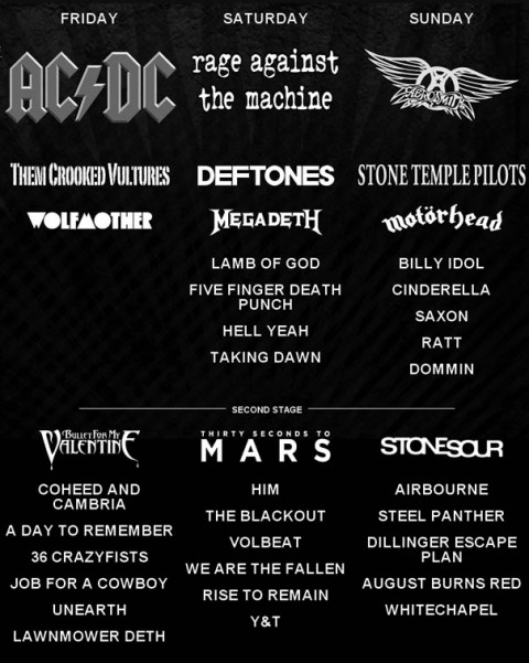 Download 2010 - 22 More Bands Added - All Metal Festivals