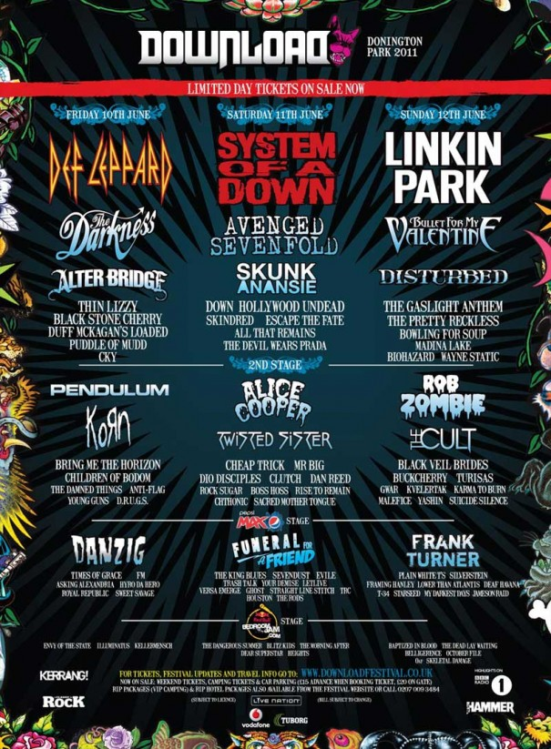 Download Festival 2011