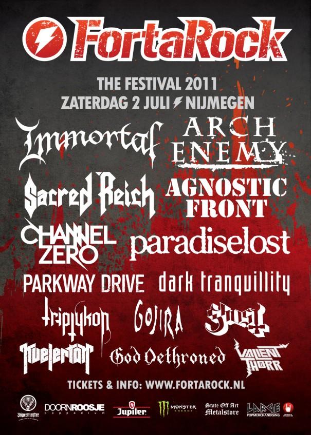 FortaRock Festival 2011 Lineup