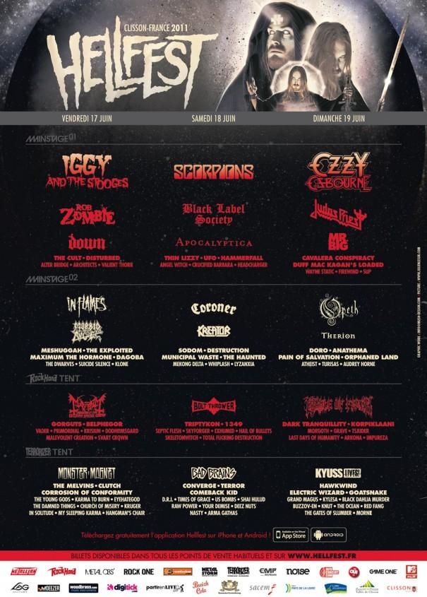 Hellfest 2011 lineup