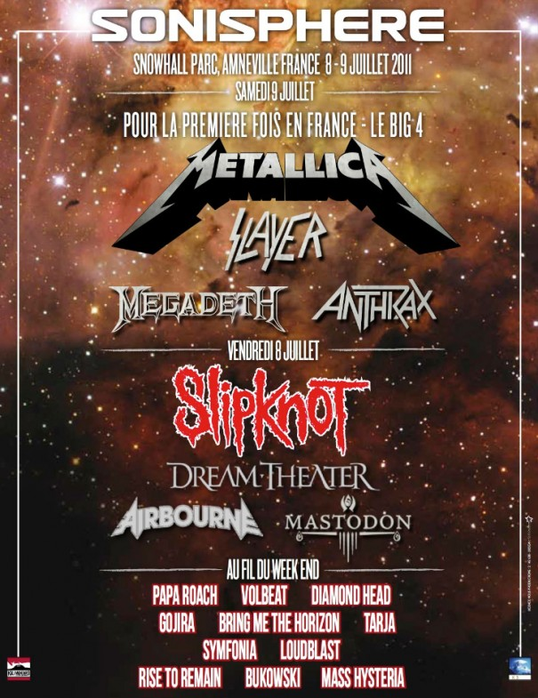 Sonisphere 2011 - All Metal Festivals