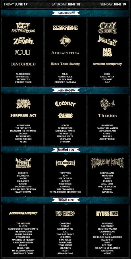 foto de Hellfest 2011 Final Line up and Running Order All Metal Festivals