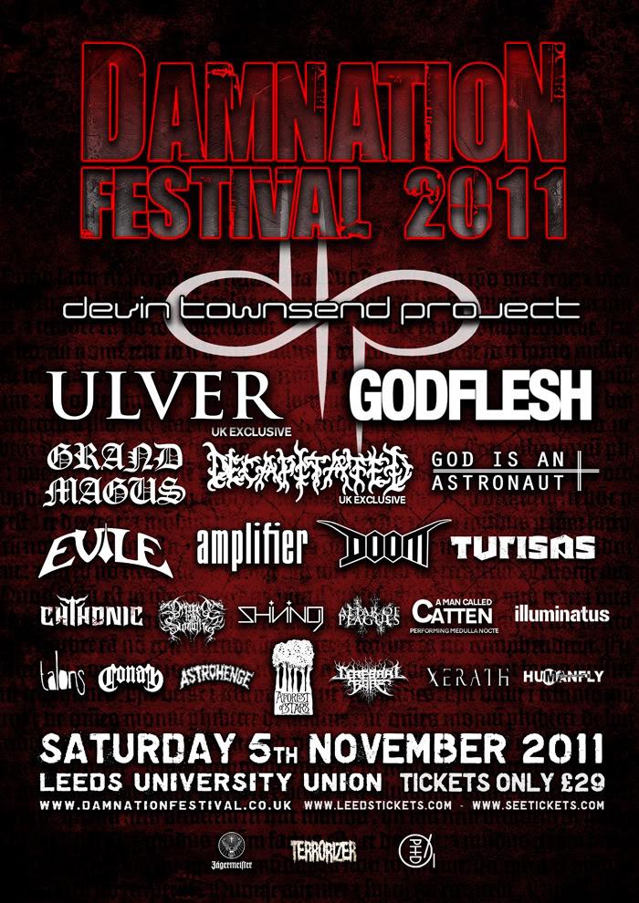 Damnation Festival 2011