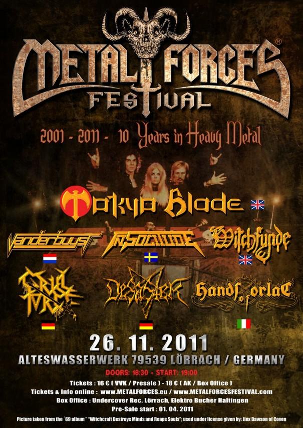 Metal Forces Festival 2011