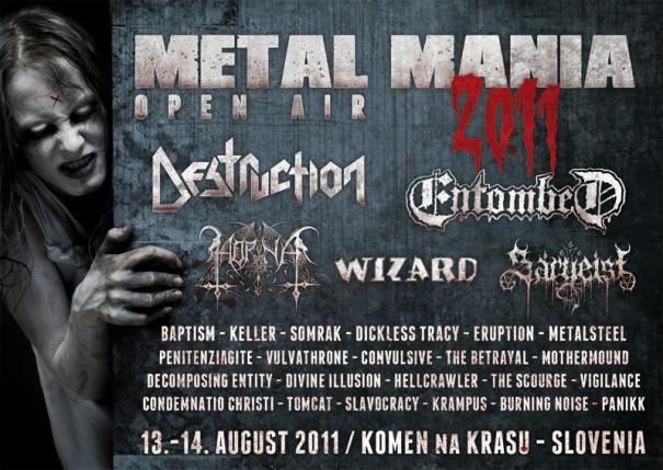 Metal Mania Festival 2011