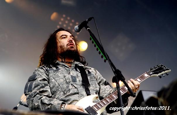 Hellfes 2011 Cavalera Conspiracy Live