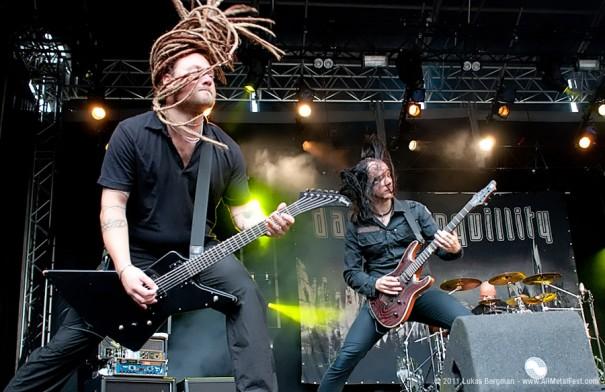 FortaRock 2011 - Dark Tranquillity Live