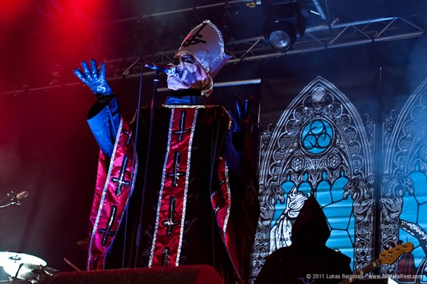 FortaRock 2011 - Ghost Live