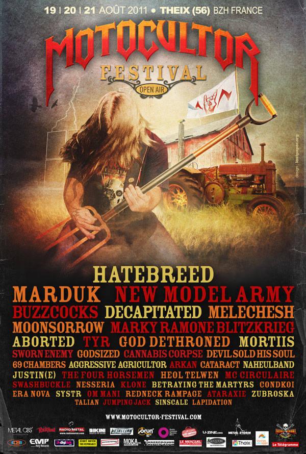 Motocultor Metal Festival 2011