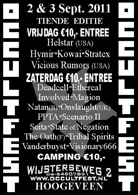 Occultfest Metal Festival 2011