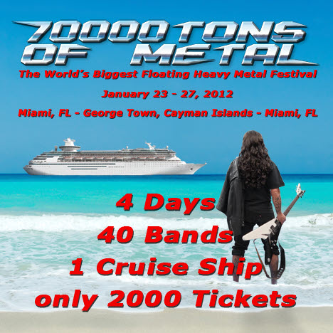 70000Tons of Metal Festival