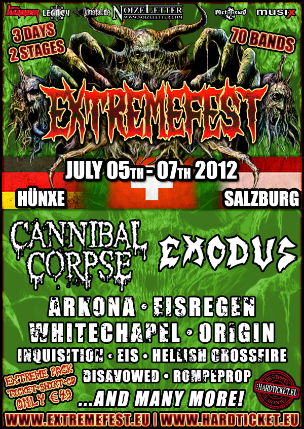 Extremefest 2012 Metal Festival