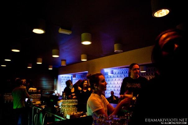 Negura Bunget - Helsinki 2011 - Venue 01