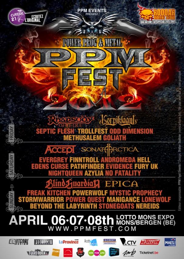 PPM Fest 2012 - Full Lineup