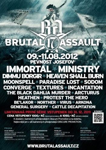 Brutal Assault 2012 - Metal Fest