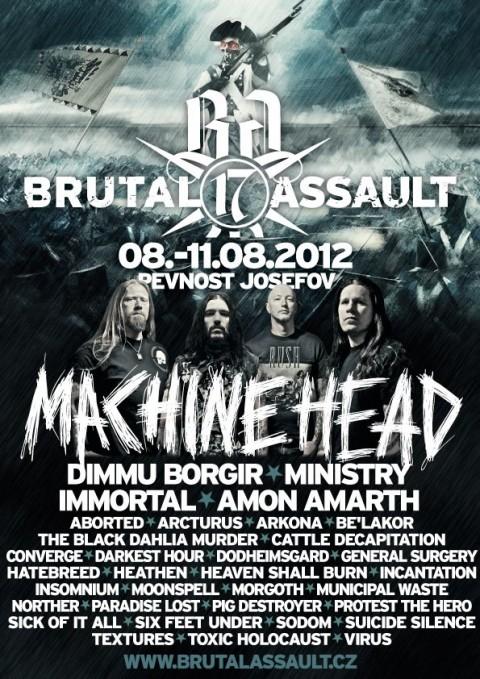 Brutal Assault 2012 - Lineup