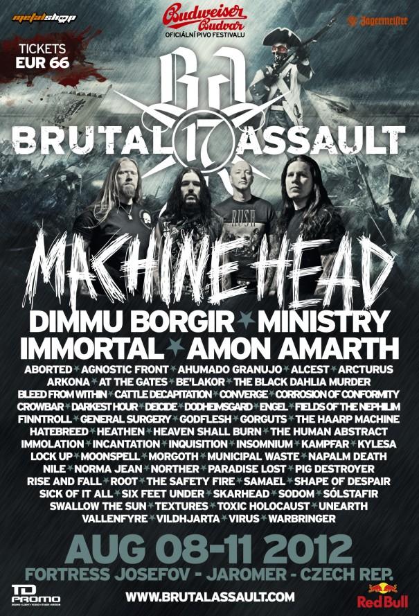 Brutal Assault 2012 - Lineup 3