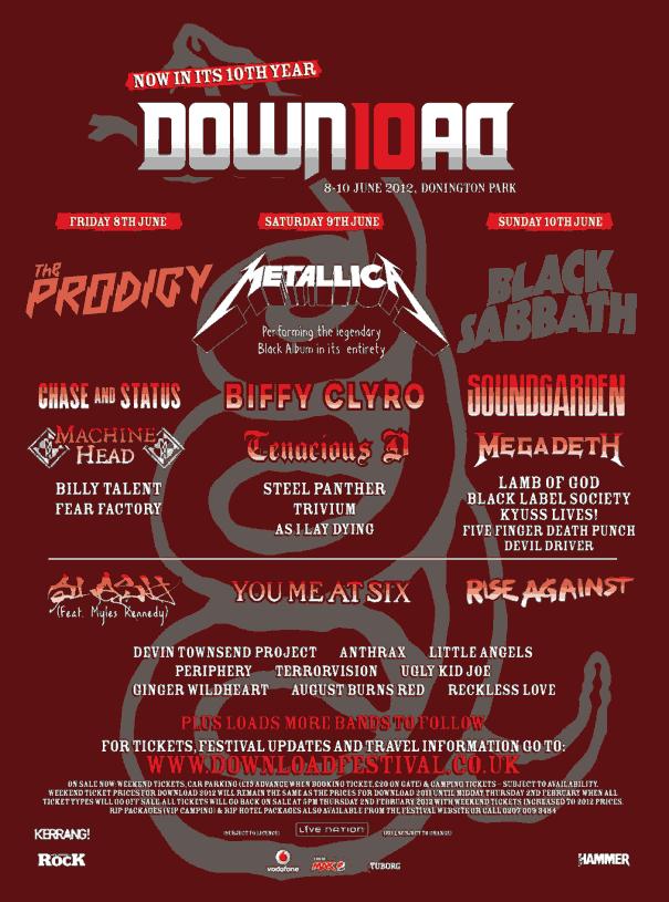 Download 2012 - Lineup