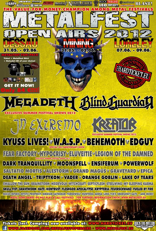 Metalfest 2012 Germany West