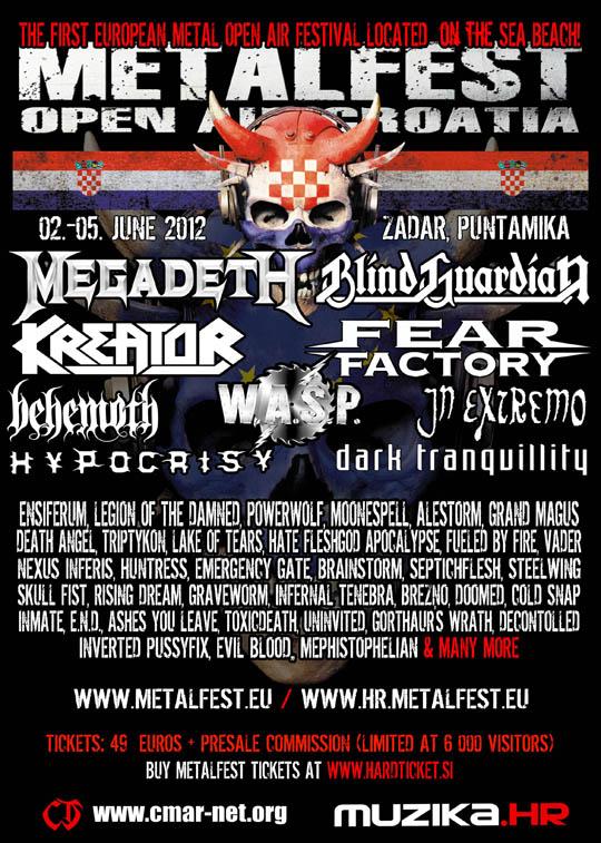 Metalfest Croatia 2012